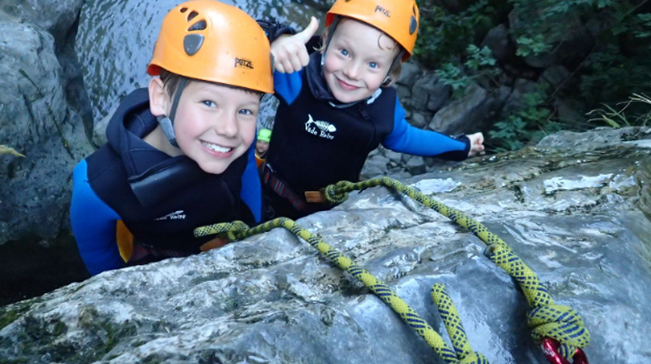 Canyoning-Lake Garda-Family Canyoning Tour in Lake Garda-5