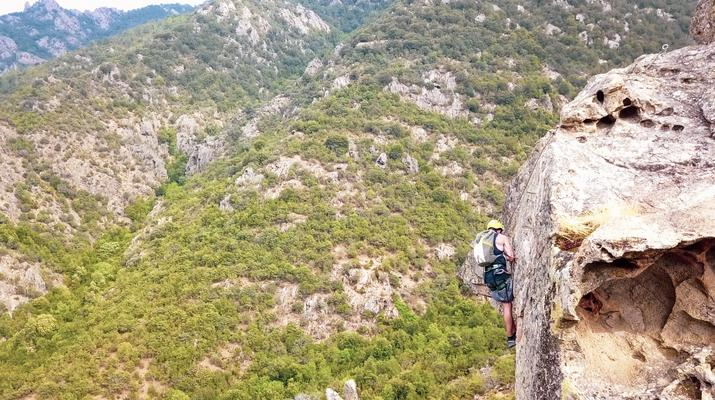 Via Ferrata-Morosaglia-Via Ferrata de la Vallée d'Asco en Haute-Corse-6