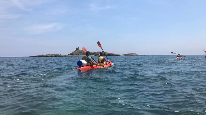Kayak de mer-Balagne-Randonnée en Kayak depuis la Plage de Lozari, Corse-3