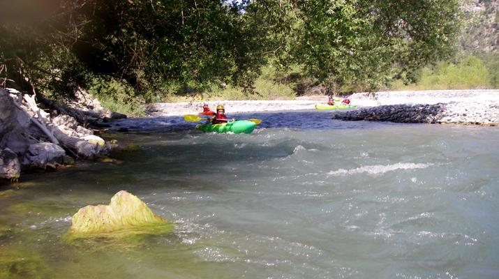 Canoë-kayak-Nice-Descente du Var en canoë-kayak depuis Villars-sur-Var-2