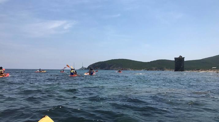 Kayak de mer-Balagne-Randonnée en Kayak depuis la Plage de Lozari, Corse-4