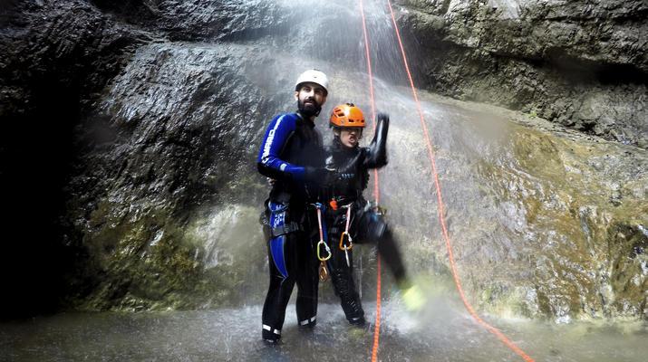 Canyoning-Gesäuse National Park-Rio Esca Canyoning tour in the Gesäuse Nationalpark-3