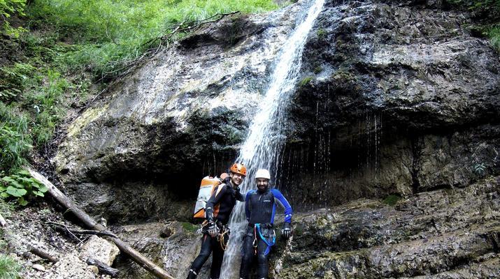 Canyoning-Gesäuse National Park-Rio Esca Canyoning tour in the Gesäuse Nationalpark-5