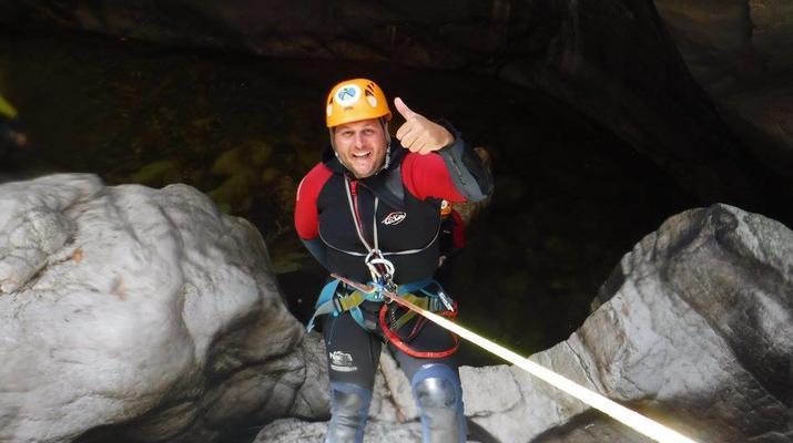Canyoning-Ronda-Advanced Canyoning in Buitreras, near Estepona-5