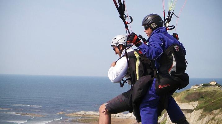 Paragliding-Las Palmas de Gran Canaria-Tandem paragliding in Los Giles, Gran Canaria-5