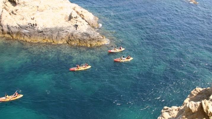 Kayak de mer-Balagne-Randonnée en Kayak depuis la Plage de Lozari, Corse-2