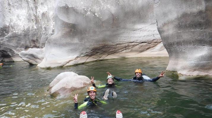Canyoning-Ronda-Advanced Canyoning in Buitreras, near Estepona-10