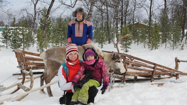 Reindeer sledding-Tromsø-Reindeer sledding day trip in Tromsø-4