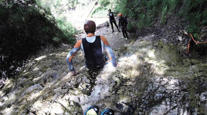 Canyoning-Gesäuse National Park-Rio Esca Canyoning tour in the Gesäuse Nationalpark-1