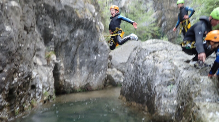Canyoning-Lake Garda-Family Canyoning Tour in Lake Garda-3