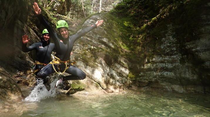 Canyoning-Lake Garda-Beginner Canyoning Tour from Gumpenfever Canyon to Lake Garda-5