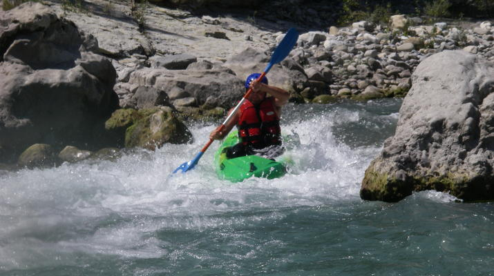 Canoë-kayak-Nice-Descente du Var en canoë-kayak depuis Villars-sur-Var-1