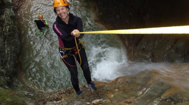 Canyoning-Lake Garda-Beginner Canyoning Tour from Gumpenfever Canyon to Lake Garda-2