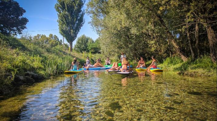 Stand up Paddle-Split-SUP excursions from Stobrec Beach inSplit-5