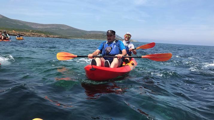 Kayak de mer-Balagne-Randonnée en Kayak depuis la Plage de Lozari, Corse-6