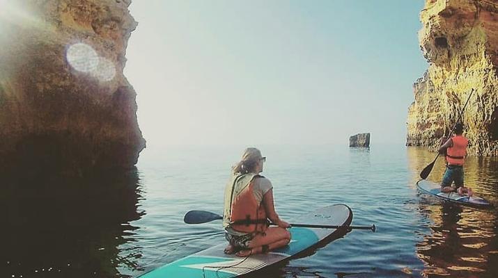 Stand Up Paddle-Lagos-Balade en SUP dans les Grottes de Lagos-3