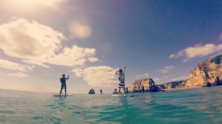 Stand Up Paddle-Lagos-Balade en SUP dans les Grottes de Lagos-5