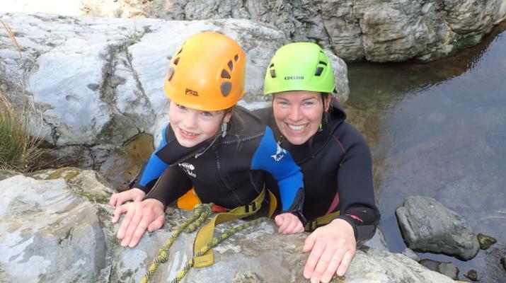 Canyoning-Lake Garda-Family Canyoning Tour in Lake Garda-2