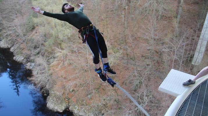 Bungee Jumping-Killiecrankie-Bungee Jump over the Garry River in Killiecrankie-4