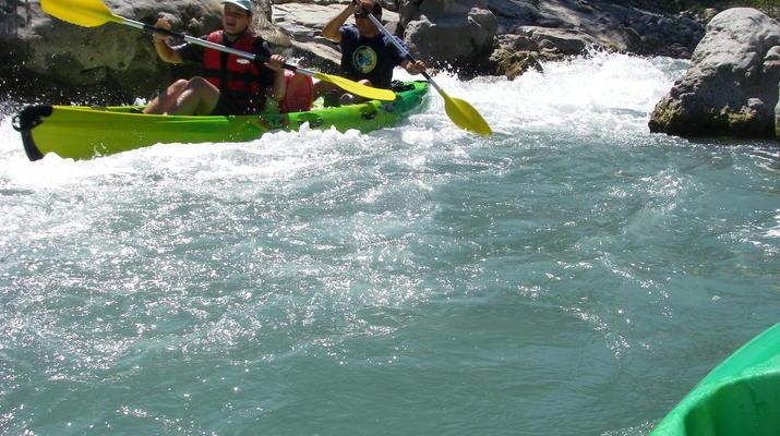 Canoë-kayak-Nice-Descente du Var en canoë-kayak depuis Villars-sur-Var-3