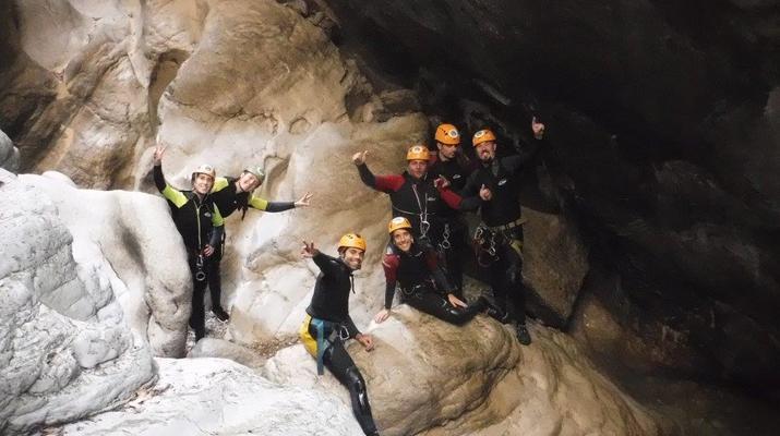 Canyoning-Ronda-Advanced Canyoning in Buitreras, near Estepona-1