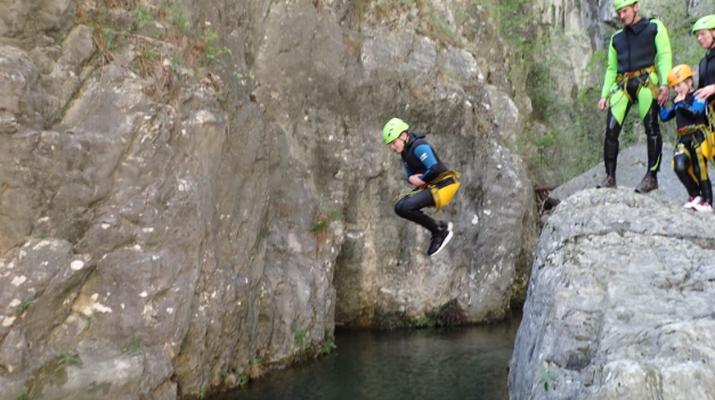Canyoning-Lake Garda-Family Canyoning Tour in Lake Garda-1