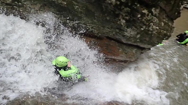 Canyoning-Lake Garda-Beginner Canyoning Tour from Gumpenfever Canyon to Lake Garda-1