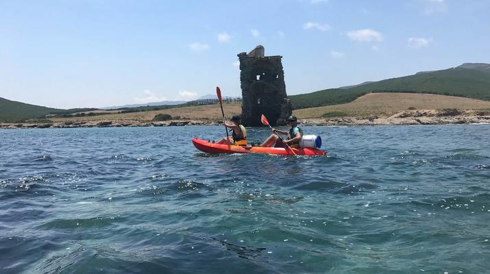 Kayak de mer-Balagne-Randonnée en Kayak depuis la Plage de Lozari, Corse-5