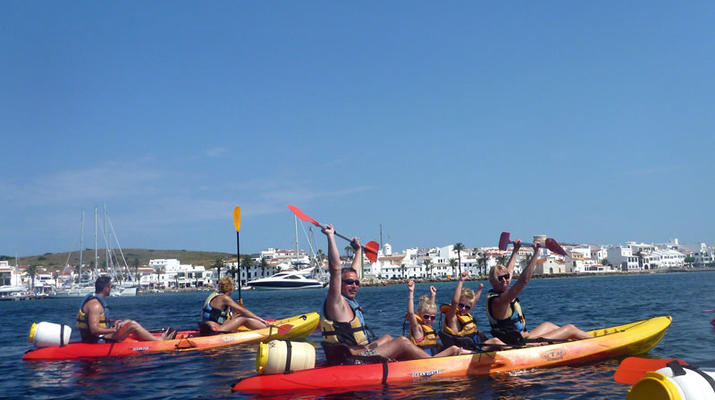 Sea Kayaking-Menorca-Sea Kayaking Excursion from Fornells in Menorca-2
