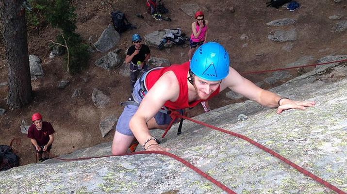 Rock climbing-Madrid-Rock climbing near madrid-2