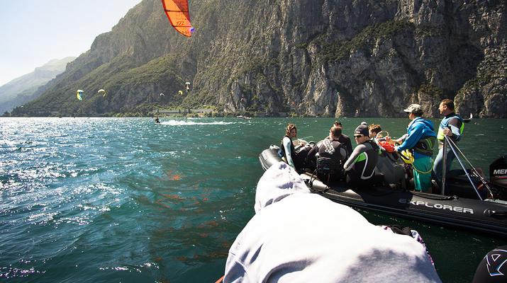 Kitesurfing-Lake Garda-Kitesurf lessons at Lake Garda-3