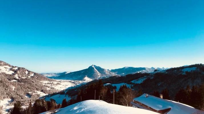 Schneeschuhwandern-Immenstadt-Schneeschuhwandern in den Allgäuer Alpen-1