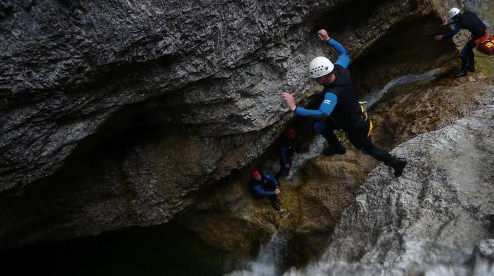 Canyoning-Berchtelsgadener Land-Canyoningtour in der Strubklamm-4
