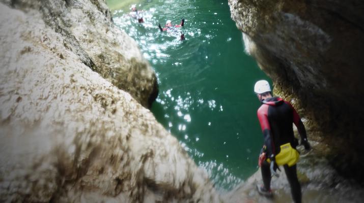 Canyoning-Berchtelsgadener Land-Canyoningtour in der Strubklamm-2