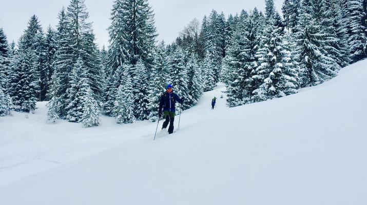 Schneeschuhwandern-Immenstadt-Schneeschuhwandern in den Allgäuer Alpen-2