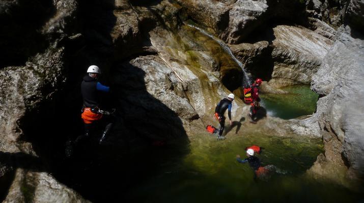 Canyoning-Berchtelsgadener Land-Canyoningtour in der Strubklamm-3