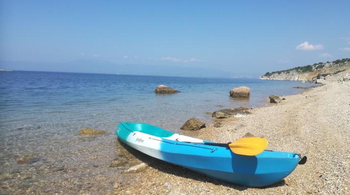 Kayak de mer-Krk-Kayak de mer de l'îlot de Saint-Marc et du pont de Krk-5