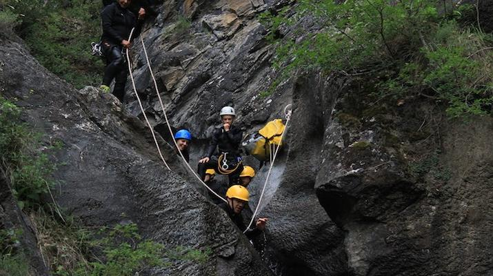 Canyoning-Spanish Catalan Pyrenees-Berros Gorge in the Spanish Pyrenees, near Llavorsi-3