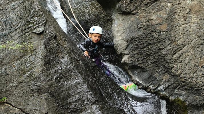 Canyoning-Spanish Catalan Pyrenees-Berros Gorge in the Spanish Pyrenees, near Llavorsi-4