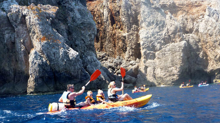 Sea Kayaking-Menorca-Sea Kayaking Excursion from Fornells in Menorca-1