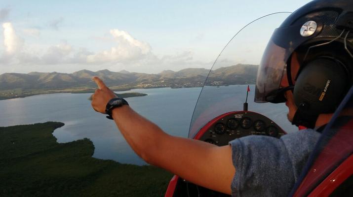U.L.M-Le Lamentin-Survol de la Martinique en Autogire (ULM)-7