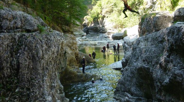 Canyoning-Berchtelsgadener Land-Canyoningtour in der Strubklamm-1