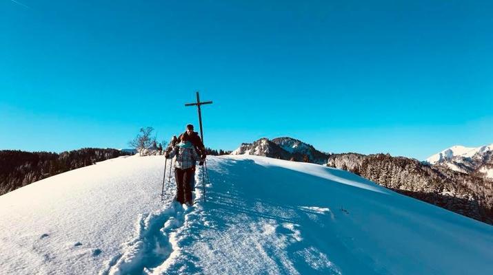 Schneeschuhwandern-Immenstadt-Schneeschuhwandern in den Allgäuer Alpen-3