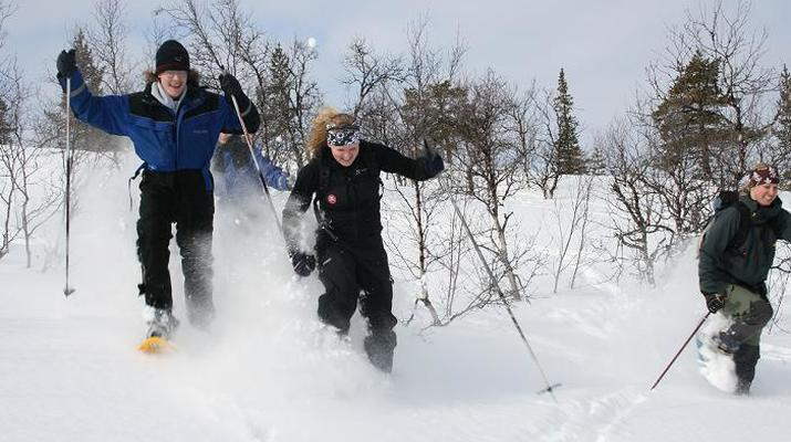 Raquette à Neige-Kiruna-Excursions en raquettes à Kiruna-2