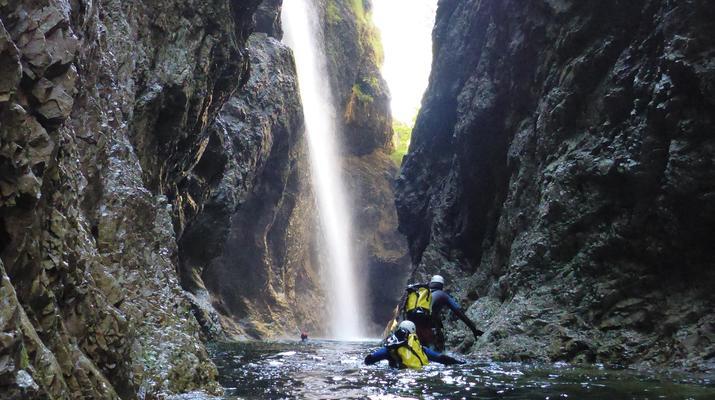 Canyoning-Berchtelsgadener Land-Canyoningtour in der Strubklamm-5