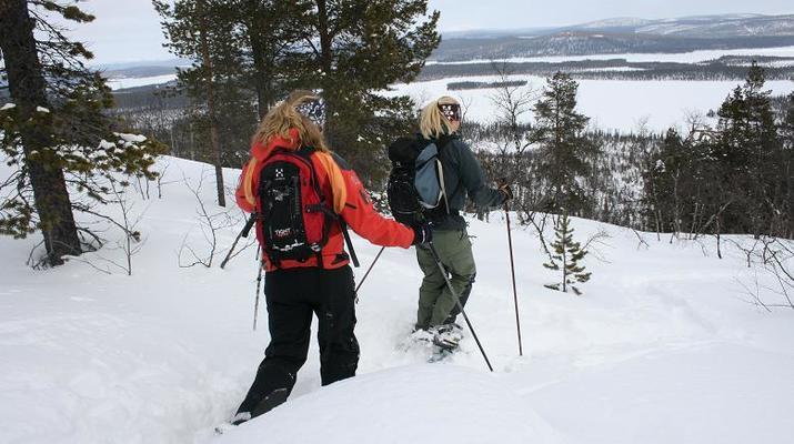 Raquette à Neige-Kiruna-Excursions en raquettes à Kiruna-3