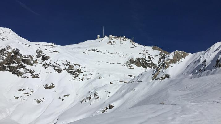 Ski Hors-piste-Pic du Midi de Bigorre-Ski Hors-Piste sur le Pic du Midi de Bigorre, Pyrénées-2