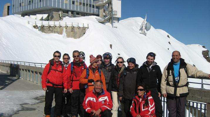 Ski Hors-piste-Pic du Midi de Bigorre-Ski Hors-Piste sur le Pic du Midi de Bigorre, Pyrénées-3