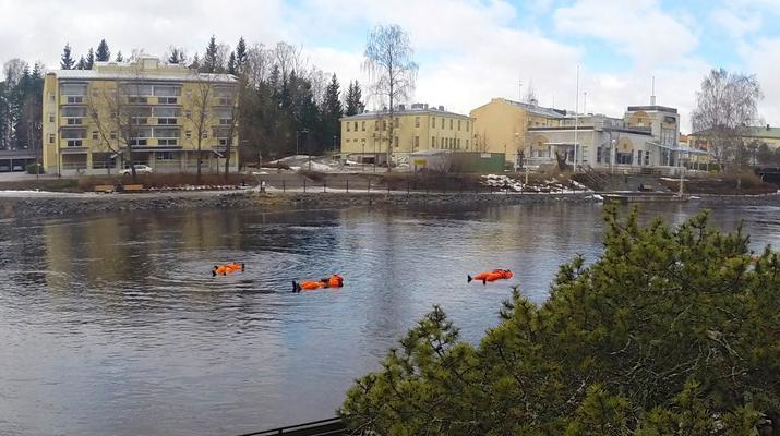 Snow Experiences-Savonlinna-Ice floating in Savonlinna, Finland-3