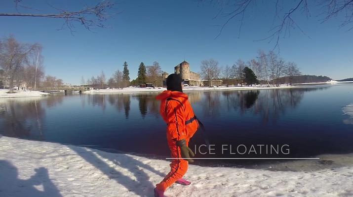 Snow Experiences-Savonlinna-Ice floating in Savonlinna, Finland-4